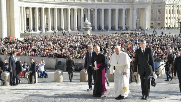 El Papa: La vida es tiempo para amar, no para poseer