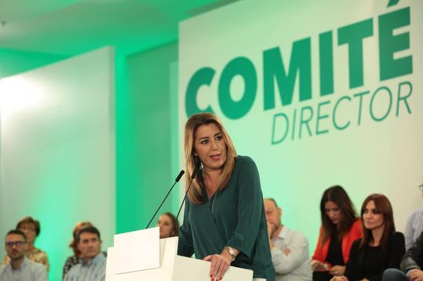 PSOE-A convoca Comité Director el próximo lunes para analizar el resultado electoral