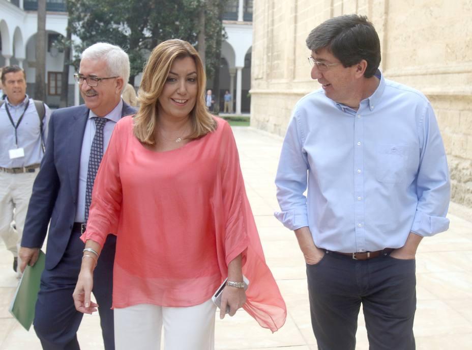 Jiménez Barrios contacta con Marín para felicitarle y ofrecerle su ayuda en el relevo en la Vicepresidencia de Junta