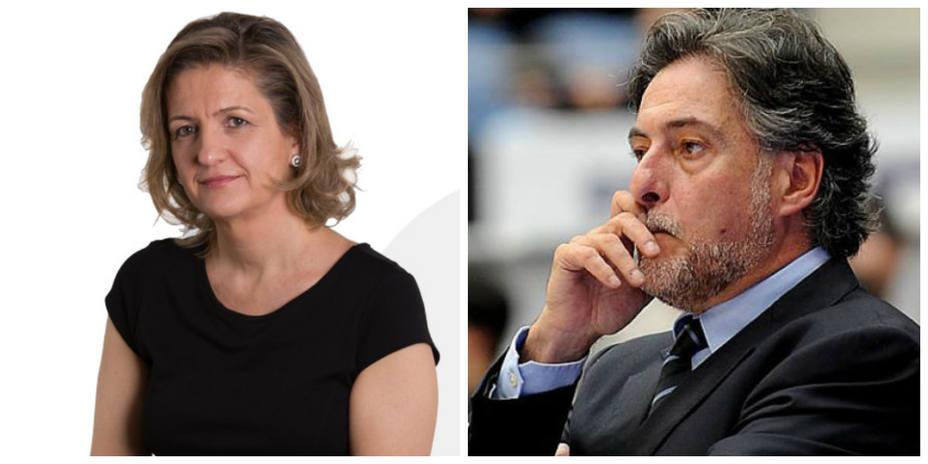 María José Peláez y Pepu Hernández