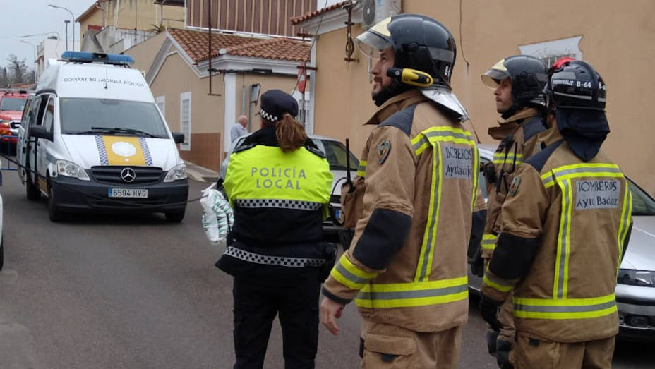 actución polilocal bomberos