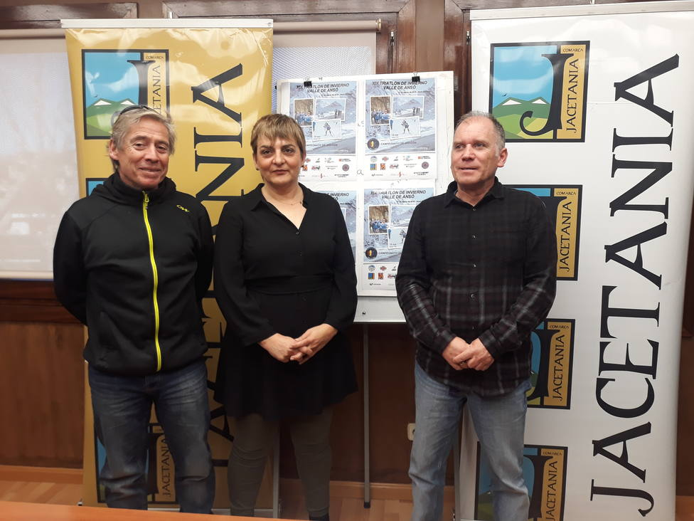 Montse Castán, Luis Lardies y Michel Galay