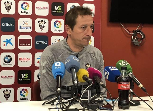 Luis Miguel Ramis, entrenador del Albacete BP