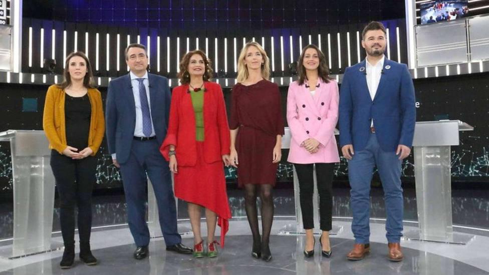 Así ha sido el tenso debate a seis de Televisión Española