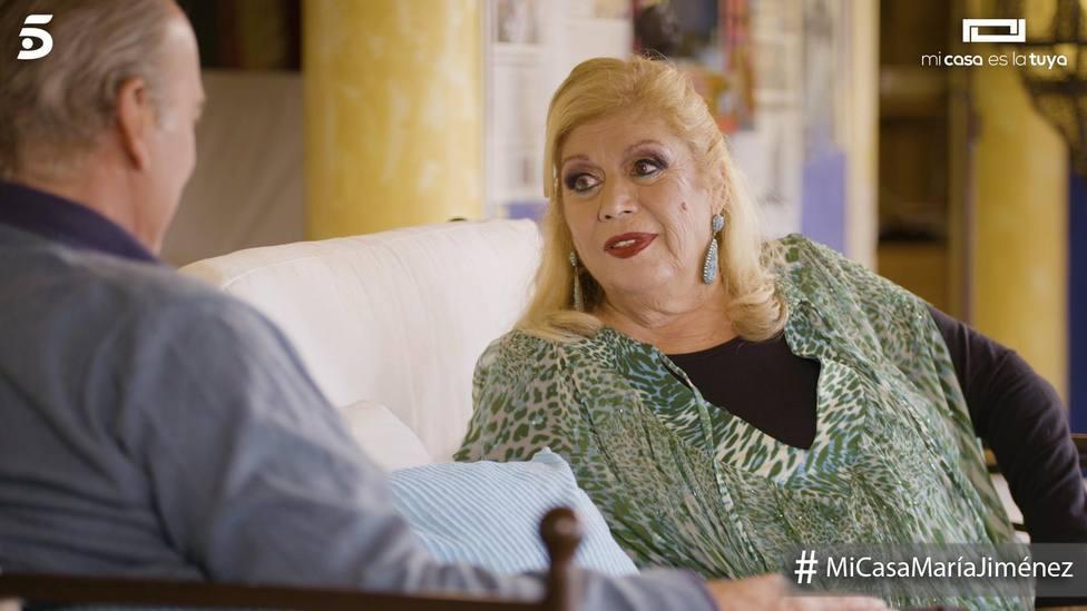 María Jiménez, un ejemplo de superación, en 'Mi casa es la tuya'