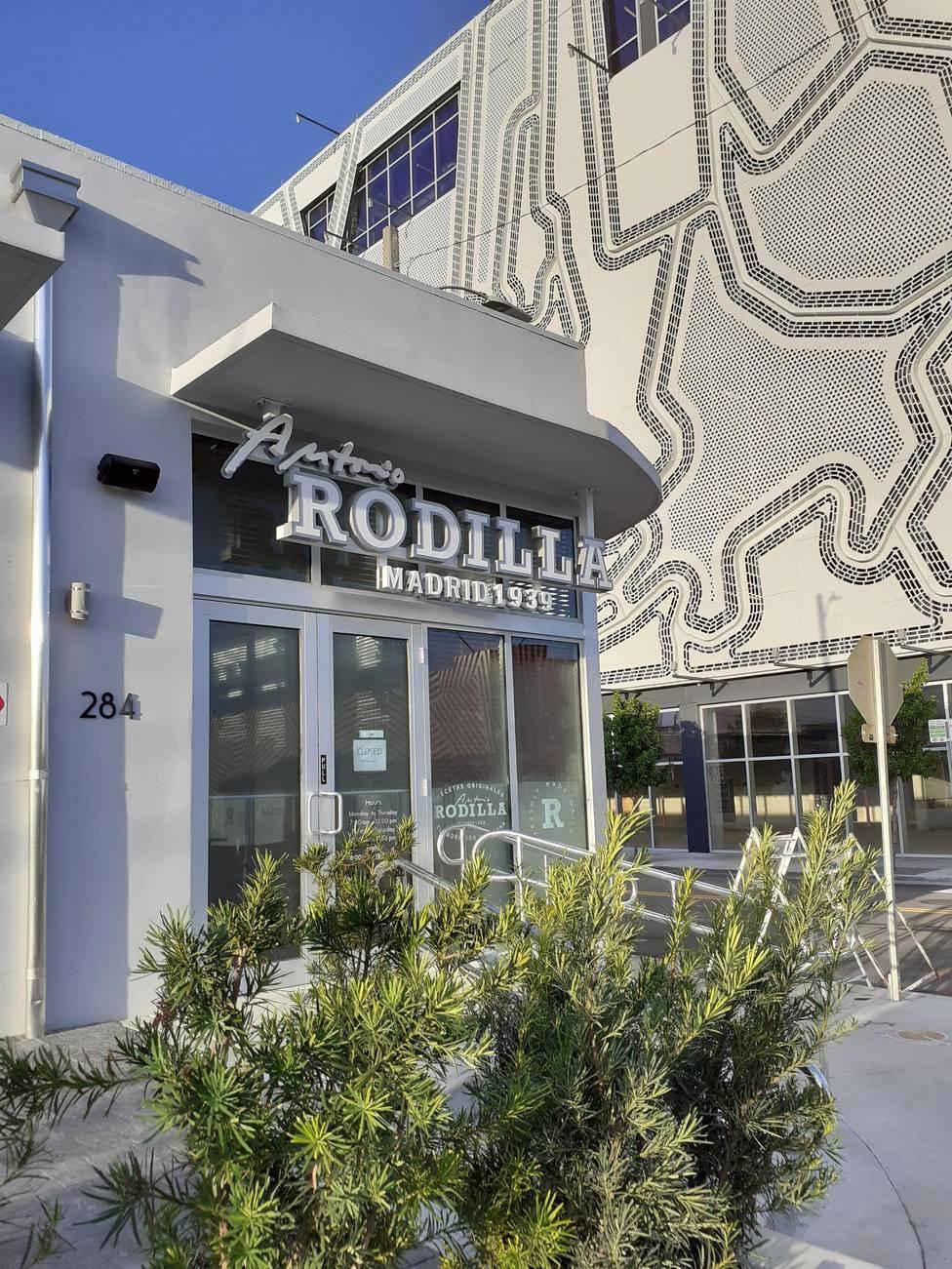 Rodilla abre su primer restaurante fuera de España en Miami, con una inversión de 5,5 millones de euros