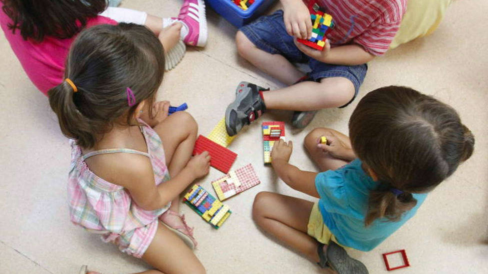 Primer día en las escuelas infantiles de la Comunidad