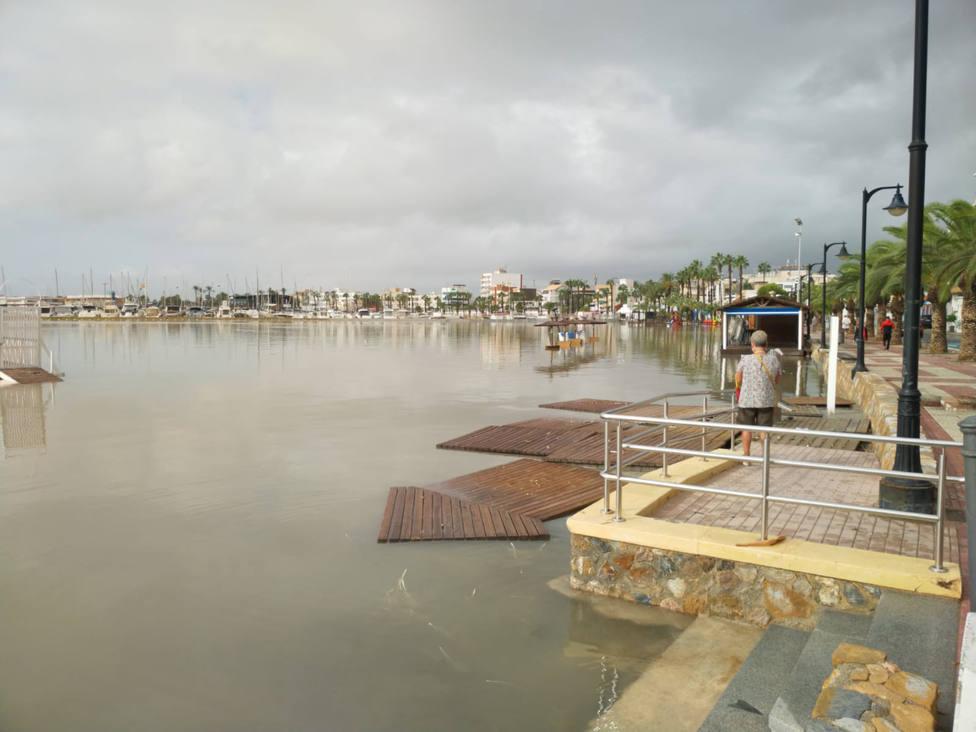 Cádiz, Gerona, Barcelona y Valencia, las provincias con más riesgo de inundarse cada diez años, según el OS