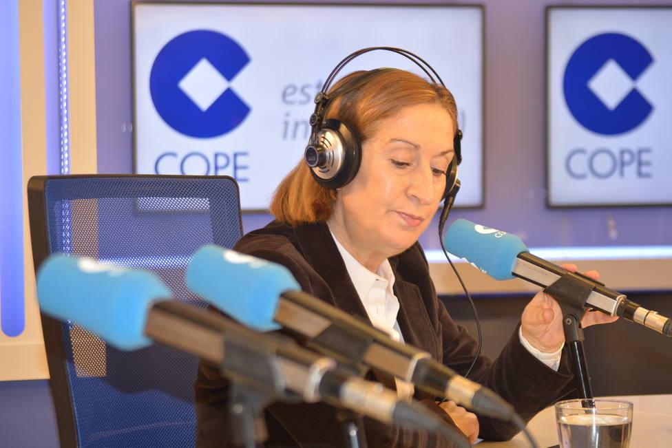 Carlos Herrera entrevista este martes a Ana Pastor en Herrera en COPE