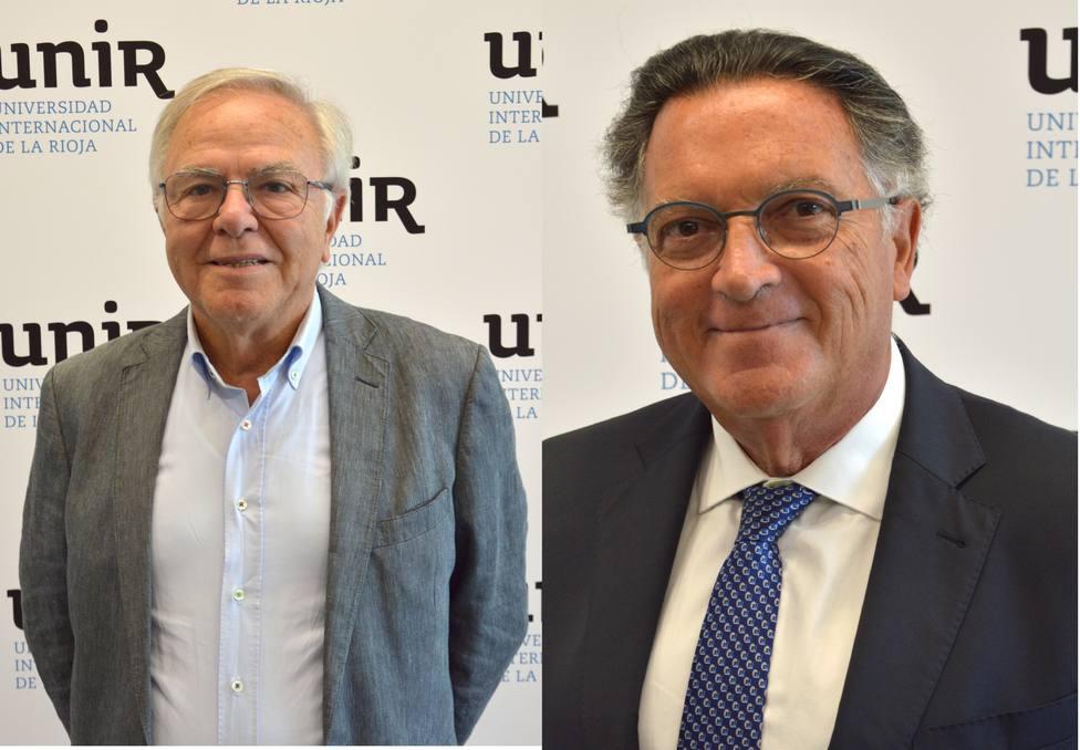 Fernando Beltrán nuevo presidente de la Fundación UNIR y Pablo Arrieta del Consejo Asesor
