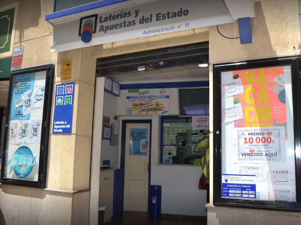 Administración de Lotería La 11 de Castellón