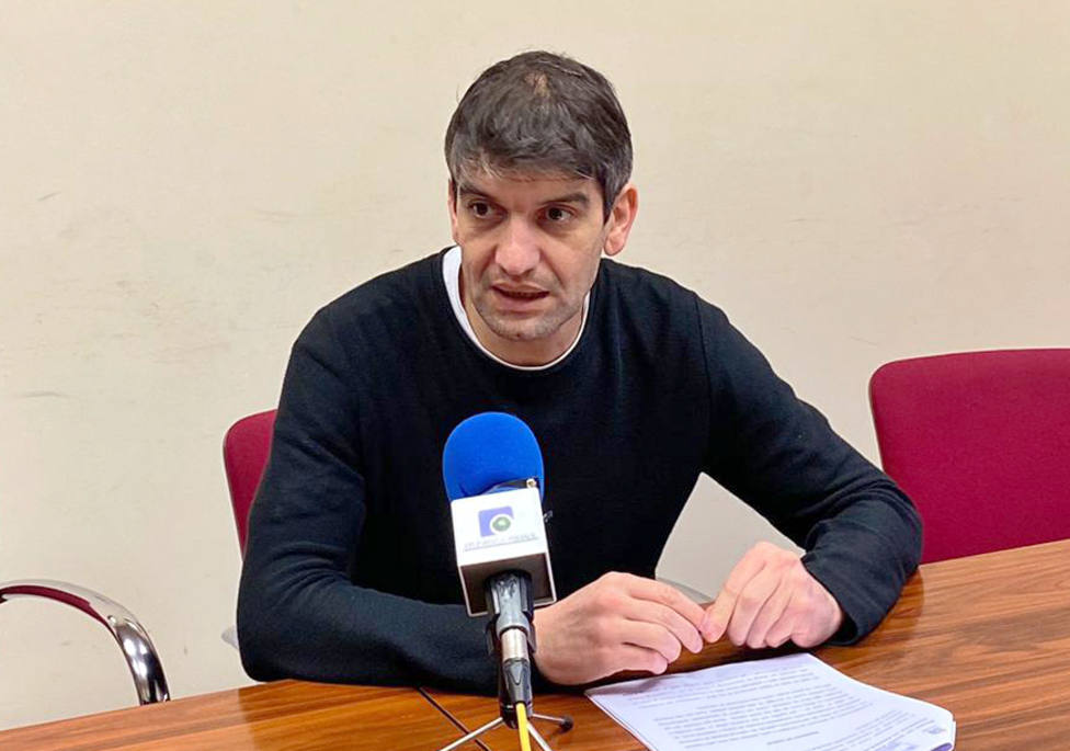Jorge Suárez, portavoz de Ferrol en Común - FOTO: Ferrol en Común