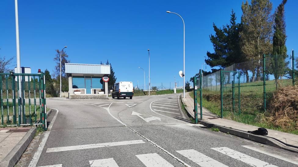 Entrada al Centro Penitenciario de Asturias