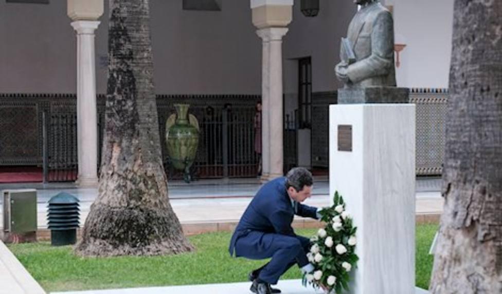 Moreno apela a la Alianza por Andalucía como heredera del espíritu de Blas Infante
