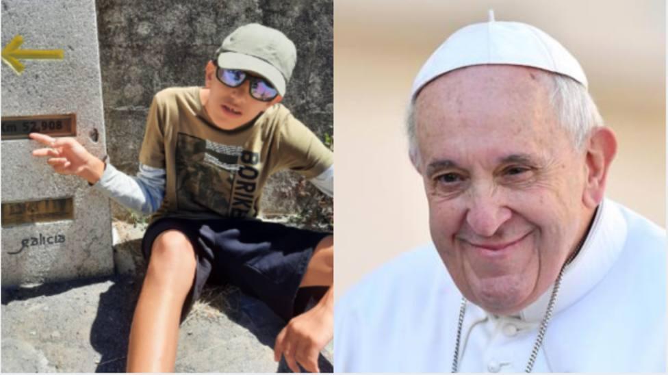 La petición de este joven con discapacidad al Papa Francisco que deja a todos en estado de shock