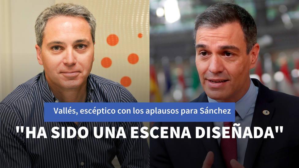El escepticismo de Vicente Vallés ante los aplausos para Sánchez: Ha sido una escena diseñada