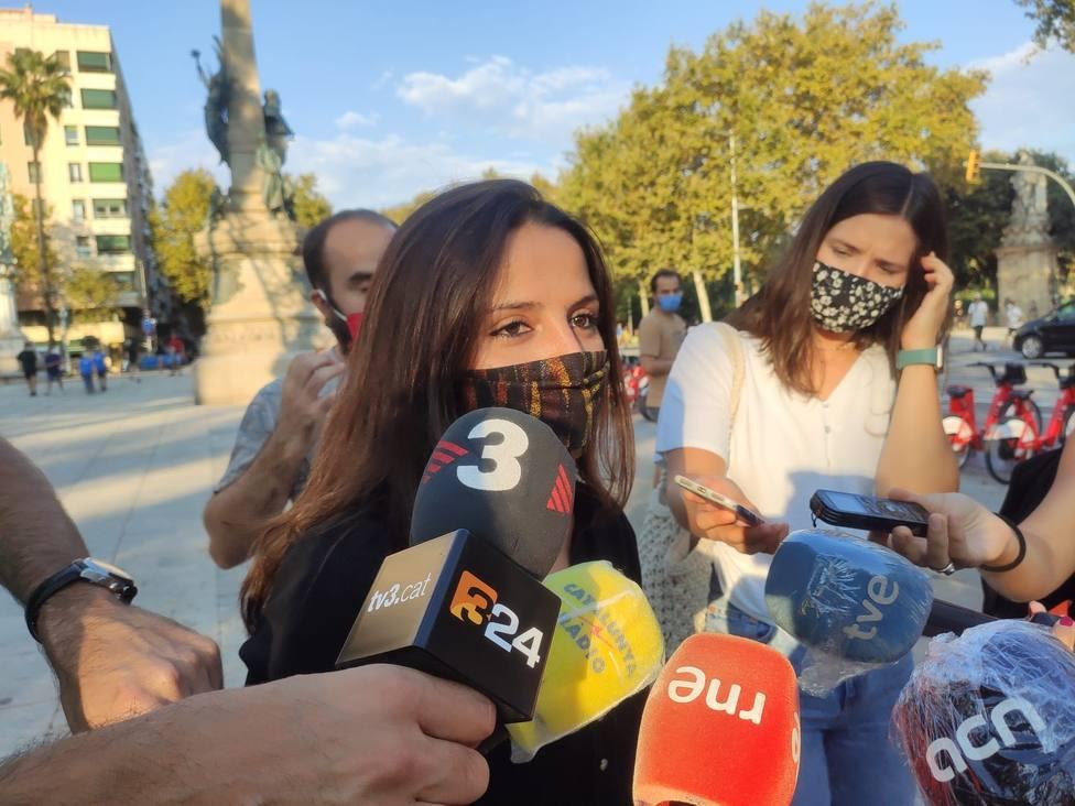 Una diputada de la CUP acusa al Govern de represión tras una detención de los Mossos