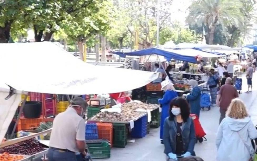 Molina de Segura reduce sus puestos en los mercados semanales