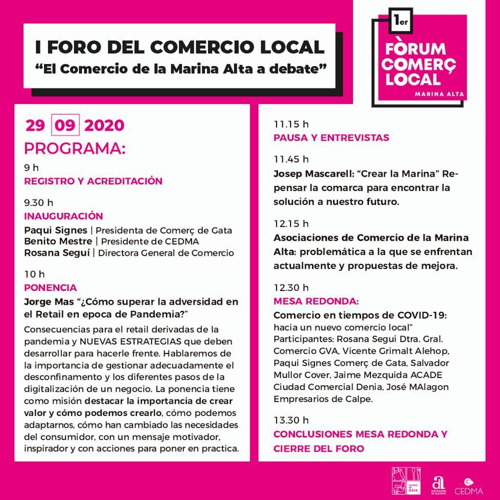 Forum de Comerç Local de la Marina Alta