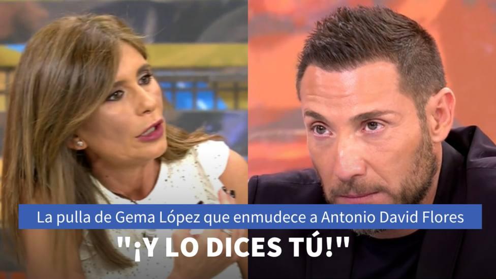 Gema López y Antonio David Flores (Sálvame)