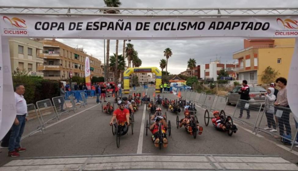 Puerto Lumbreras trabaja para acoger el Campeonato de España de Ciclismo Adaptado
