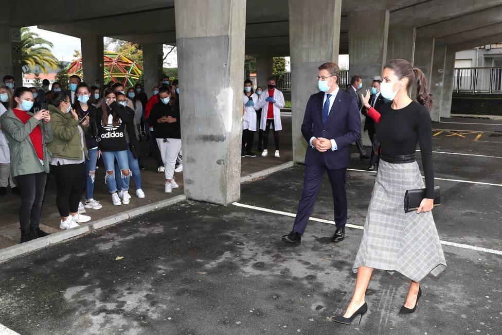Las fotos de la visita de la Reina Leticia a Santiago de Compostela