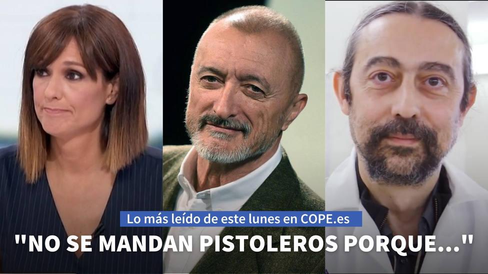 La entrevista de Herrera a Pérez-Reverte, entre lo más leído de este lunes