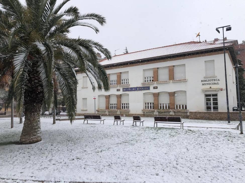 La Biblioteca municipal de Calahorra cerrada por el positivo de un trabajador