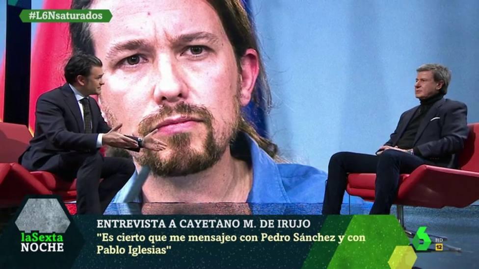 Cayetano Martínez de Irujo en LaSexta