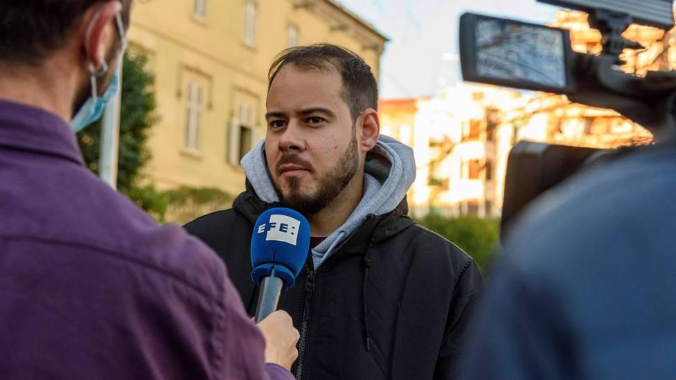 Pablo Hasel se encierra en la Universidad de Lérida para evitar su ingreso en prisión
