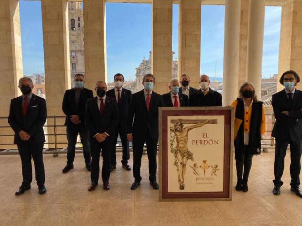 Un completo programa de actos conmemorará el 125 aniversario de la Cofradía del Perdón