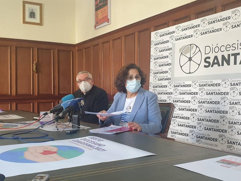 La Diócesis de Santander y Cáritas convocan gesto de cuaresma para destinar su recaudación a 5 proyectos