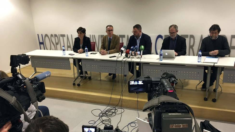 Barbón anuncia el primer positivo de Covid en Asturias (29/02/2020)