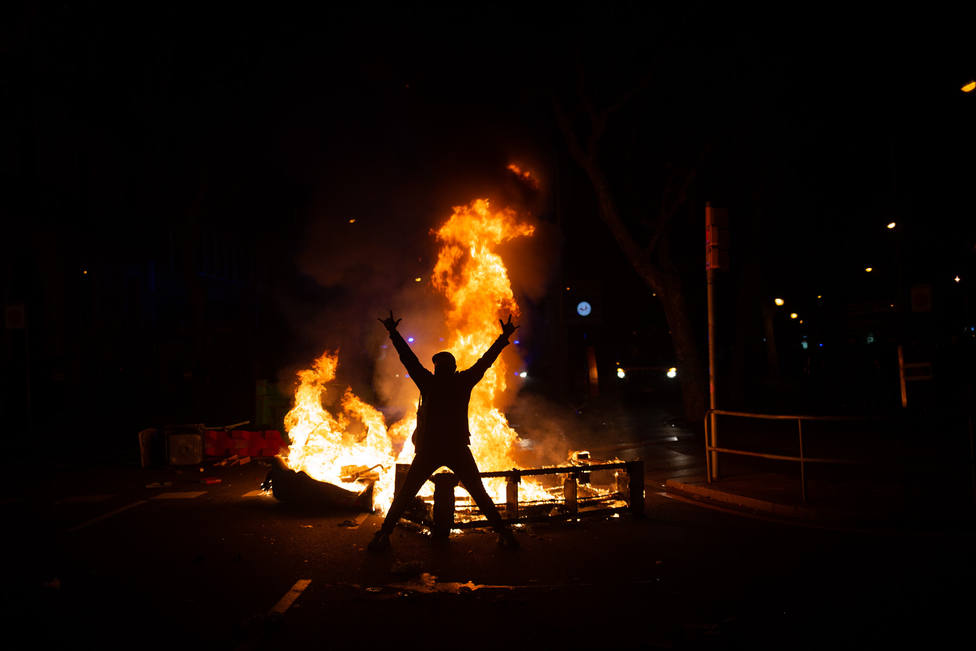 Los disturbios tras el encarcelamiento de Hasél tienen un coste aproximado de 1 millón en la ciudad condal