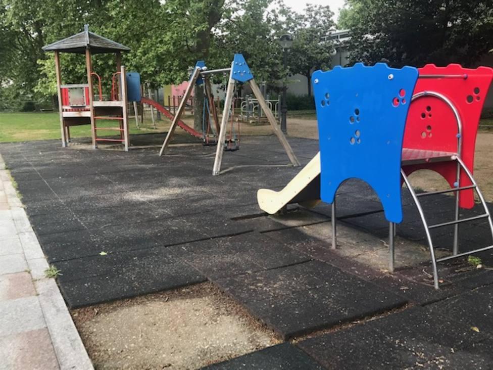 Zona infantil de la Alameda 1