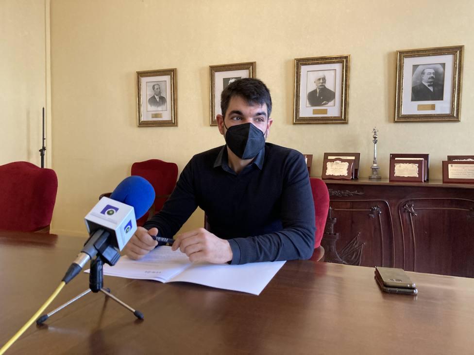 El portavoz del gobierno ferrolano, Julián Reina. FOTO: Concello de Ferrol