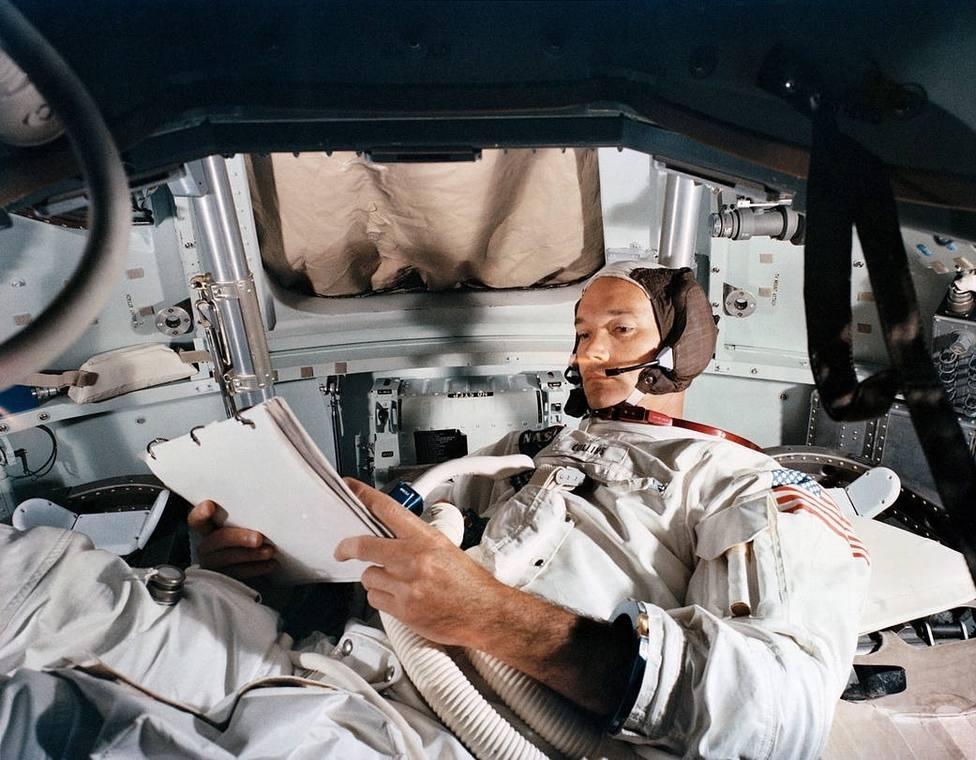 Fallece el astronauta Michael Collins, uno de los tres que llegaron a la Luna