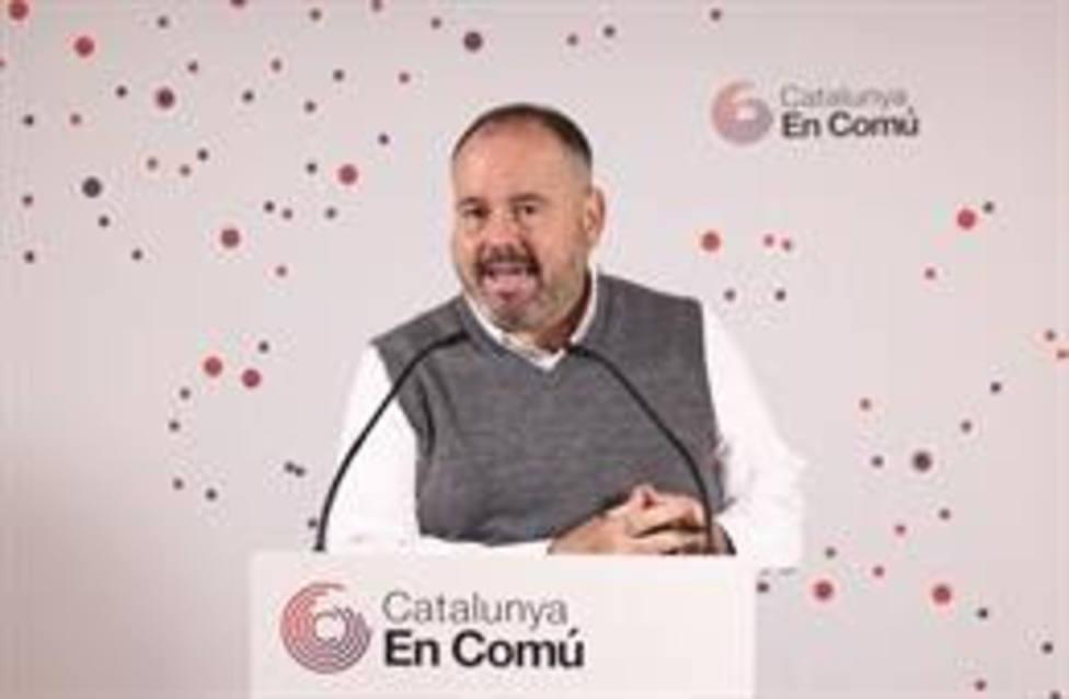 El portavoz de los comuns y diputado en el Congreso, Joan Mena