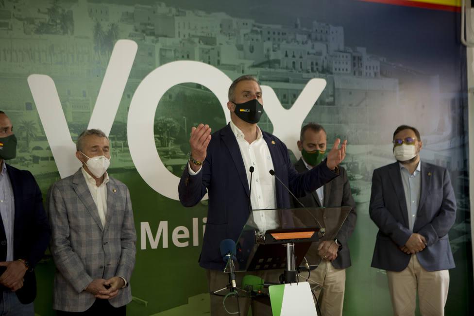 Vox anuncia un gran acto político en Melilla el 10 de junio tras haberse desautorizado tres concentraciones