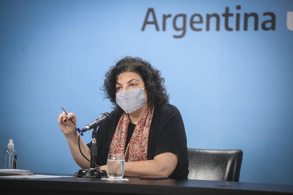 Argentina notifica 13.043 nuevos casos de covid-19 y 268 fallecimientos