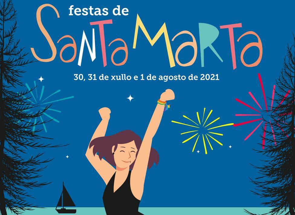 La romería de Santa Marta se celebrará en Cabanas entre el jueves 29 y el domingo 1 de agosto