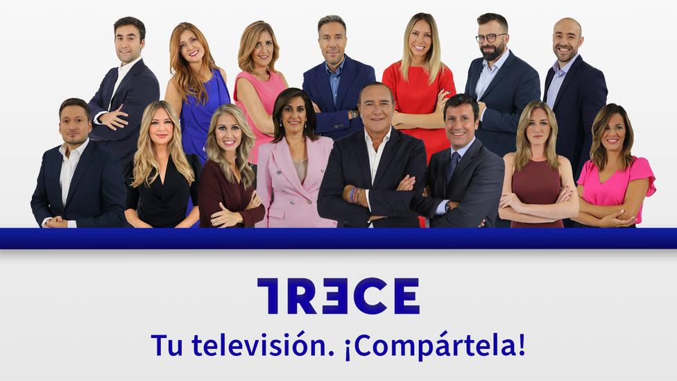 TRECE afronta esta temporada el mayor impulso de su historia en la programación