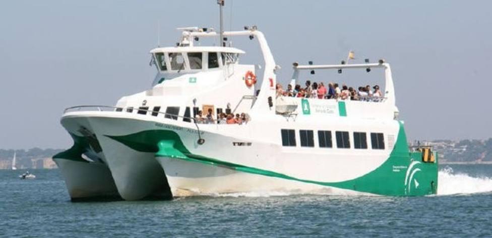 Catamarán de la bahía de Cádiz