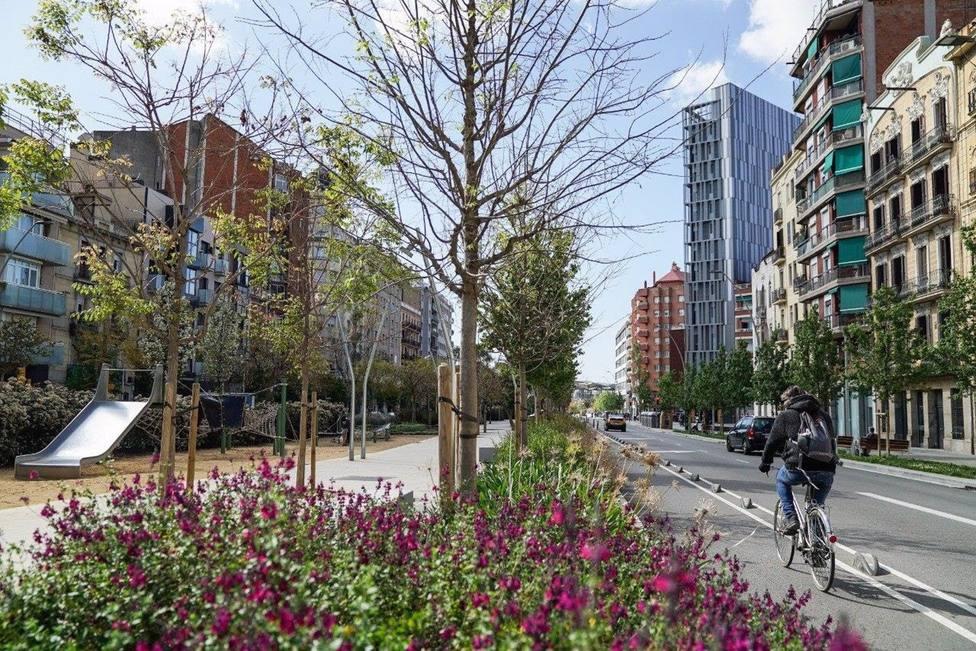 Barcelona aumentará 32,6km su red de carriles entre el 2021 y el 2023.