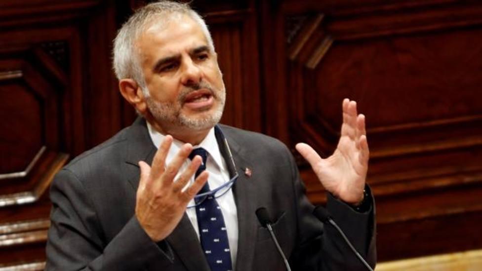 El líder de Ciudadanos en Cataluña, Carlos Carrizosa