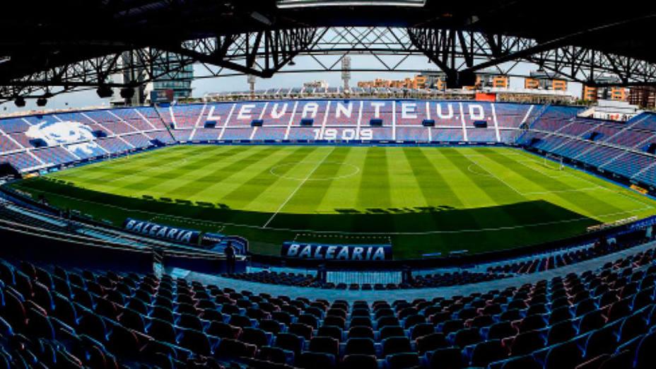 Imagen del estadio Ciutat de Valencia (@LevanteUD)