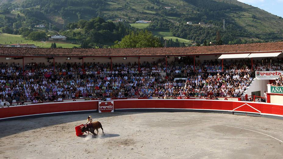 La plaza de toros de Azpeitia volverá a celebrar un año más su feria de San Ignacio