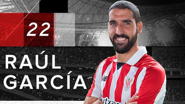 Raúl García, jugador del Athletic (FOTO: Athletic Club)