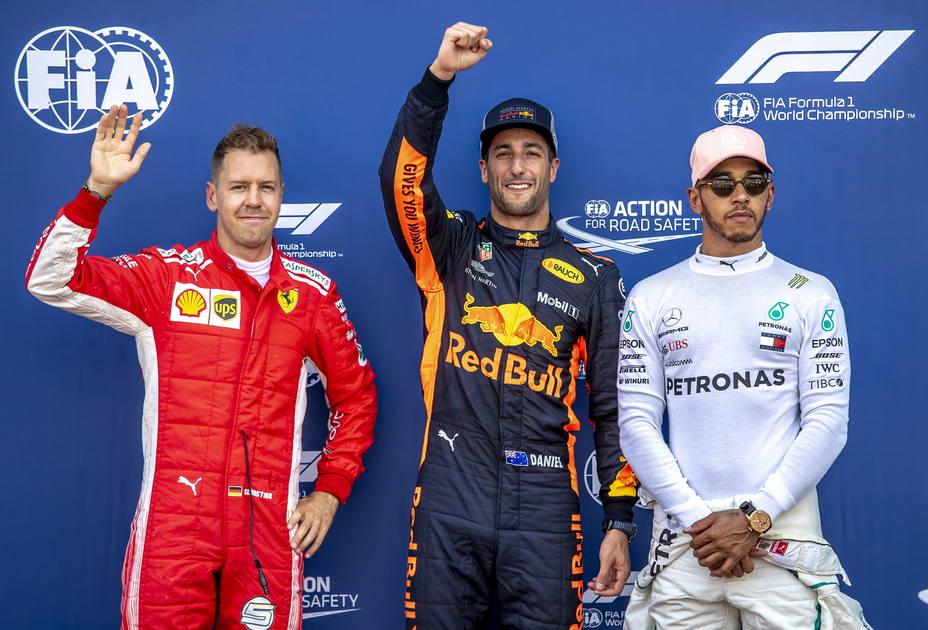 Podio GP Mónaco
