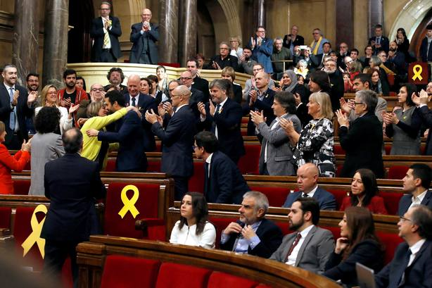 SESIÓN CONSTITUTIVA DEL PARLAMENT DE CATALUÑA